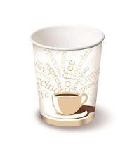 1000 Bicchieri Cappuccino/The di carta per bevande calde 278ml Linea Caldo