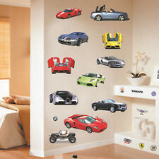 New Sports Car Wall Sticker Decal Home Decor Vinyl Removeable Kids Room DE