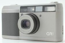 【NEAR MINT】 Ricoh GR1 35mm Silver Point & Shoot Camera 28mm Lens from Japan #218