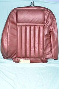 1975 -1976  Ford Granada Bucket Seat Backrest Cushion Cover OEM Orig LH  RH Red