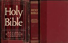 Nelson Holy Bible Revised Standard Version 1952 (Hardcover w/DJ