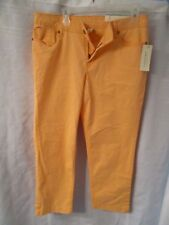 Sonoma Life and Style Jeans Pants Original Fit Simply Peach Color Petite 14 New