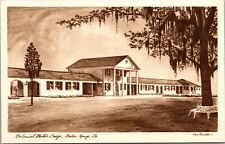 Postcard Colonial Motor Lodge in Baton Rouge, Louisiana~132609