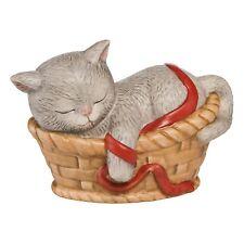 Goebel Kätzchen im Körbchen NEUHEIT 2017 Katze im Korb Figur Weihanchten neu