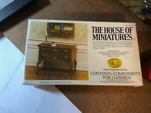The House Of Minature's Lowboy Circa  Doll House Furniture New