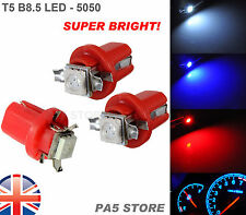 3x T5 B8.5 Panel Led Rojo (3 Unidades) - Super Brillantes 5050 Bombillas De Calidad. postales del Reino Unido