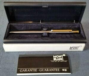 Vintage Montblanc S-Line 0.5mm Mechanical Pencil in Gunmetal Finish - Engraved