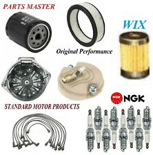 Tune Up Kit Filters Cap Spark plugs Wire For CHEVROLET CAPRICE V8 5.7L 1971-1974