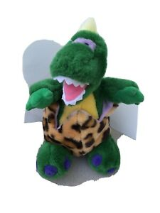 RARE Darling Plush Stuffed Dinosaur Hatching from Removable Egg Toy Mary Meyer