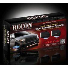 RECON 264240BK 2009-2014 Ford F150 Raptor Smoked Mirror Light Lens