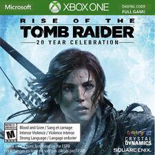 Rise of the Tomb Raider 20th Year Celebration Xbox One Key Us Region (No Cd/Dvd)