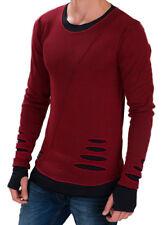 Pullover Herren Redbridge Sweatshirt Sweater Strickpulli Longsleeve Shirt