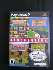 PS2 Namco Museum (Sony Playstation 2) Complete Free Shipping Excellent Black Lbl