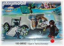100-06692- Playmobil- Techno Chamäleon mit Agent Gene