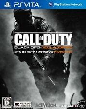 Used PS Vita Call of Duty: Black Ops  SONY PLAYSTATION JAPANESE IMPORT