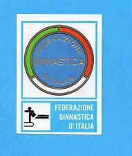 CAMPIONI dello SPORT 1973/74-Figurina n.174- GINNASTICA -STEMMA FEDERAZIONE -Rec