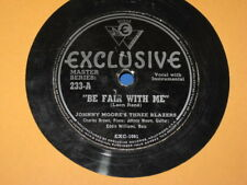 """Exclusive 233 Johnny Moore's Three Blazers - Be Fair With Me/Sunny Road 1946 10"""""""