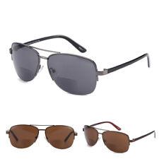 Men Women Bifocal Reading Glasses Frame Diopter Presbyopic Eyeglasses Sunglasses