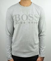 Hugo Boss Green Togn Logo Long Sleeves T-Shirt