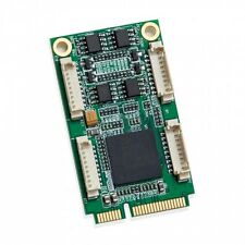 Syba SI-MPE15050 2 / 4 Port RS232 Industrial Mini PCI-E Serial Card