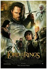 Lord Of The Rings The Return Of The King Movie Poster 24x36 Inches - Frame Ready