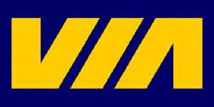 VIA Rail Canada Budd Baggage Dormitory Car Walthers 932-16461 HO NEW