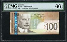 "*2003-06 CANADA $100.00 ""BANK OF CANADA"" AWESOME NOTE PMG 66 EPQ PLEASE LQQK!!*"