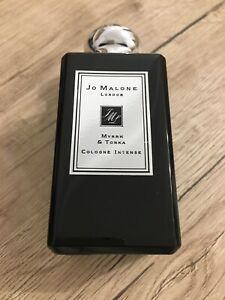 Jo Malone Myrrh & Tonka Cologne Intense 3.4 fl oz / 100 ml New Sealed