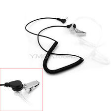 1 Pin 3.5mm Headset Mic Clear Acoustic Tubing Earpiece For Radio New
