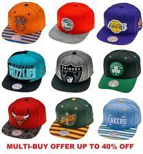 Nuevas Gorras NFL Mitchell & Ness NBA Snapback Cap Hat modelos de coleccionista raro