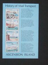 Ascension 1980 London 80 Mail Transport Ship MS MS368 MNH UM unmounted mint