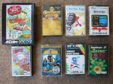 Sinclair  ZX Spectrum  games bundle - dizzy- chuckie egg - horace goes skiing