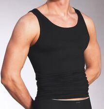 3 x Mey DRY COTTON Unterhemd  Sport-Jacke  46000  Gr. 6 / L   Farbe: schwarz