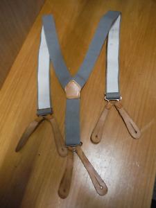 British Army Braces Vintage Retro Elasticated Trouser Brace No2 Dress Uniform F3