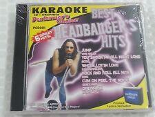 Performer's Choice Karaoke Disc PC0001 Best Headbanger's Hits CD+G Sound Choice