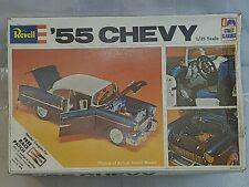 Vintage Revell '55 Chevy Bel Air 1/25 Model Kit #H-1374