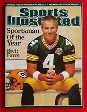 2007 GREEN BAY PACKERS BRETT FAVRE SPORTSMAN OF THE YEAR Sports Illustrated NL