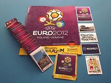 PANINI EM 12 Euro 2012 - Komplettset (Dt. Ausgabe) + Leeralbum + Tüte