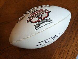 Jon Gruden (BUCCANEERS) signed mini football
