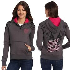 "Metal Mulisha ""protection"" Pullover Ladies Hoodie Size M"