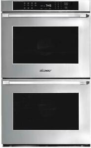 "Dacor - Heritage 29.9"" Built-In Double Electric Convection Wall Oven - Stainless"