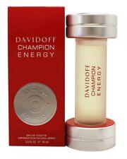 DAVIDOFF CHAMPION ENERGY EAU DE TOILETTE 90ML SPRAY - MEN'S FOR HIM. NEW