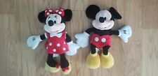 New listing disney mickey mouse minnie mouse large plush toy