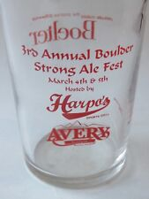 Bicchiere Della Birra ~ Avery Birreria Company ~3 ° Annuale Forte Festival ~