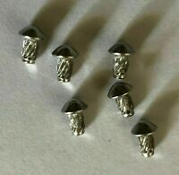 BICYCLE HEAD BADGE RIVETS Bicycle Headbadge Spiral Rivit Screw Rivets 6 Pcs.