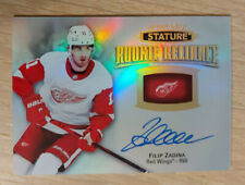 2019-20 UD Stature Filip Zadina #RR7 Rookie Reliance Auto
