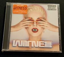 KATY PERRY Witness CD NEW FACTORY SEALED