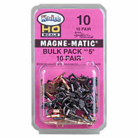 Kadee #10 Bulk Pack 10 pair #5 NO.5 Metal Couplers : HO Scale