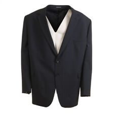 BRUNO SAINT HILAIRE Jacket Navy Wool Blend Size 50 R RRP £295 BW 487