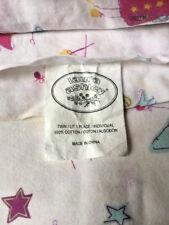 LAURA ASHLEY Fun Fairies Sheet Flat, Pillowcase-Twin Size-VGC